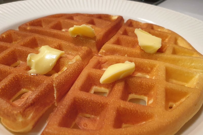 Make the perfect cream cheese chaffle