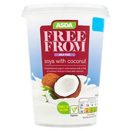 ASDA Free From Soya Yogurt with Coconut