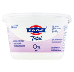 Fage Greek yoghurt 0%