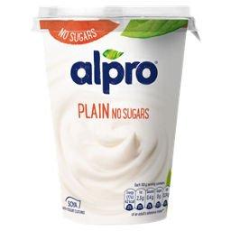 Alpro Plain Unsweetened Soya Yogurt