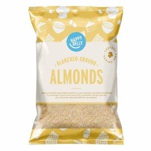 Amazon Brand - Happy Belly Blanched Ground Almonds 200gr x 5 (almond flour)