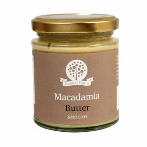 Nutural World - Smooth Macadamia Nut Butter (170g)