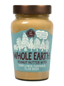 Whole Earth Peanut Butter with Sunflower Pumpkin & Flax Seeds