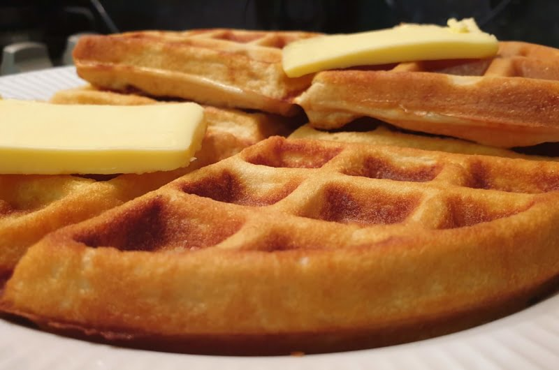 Ultimate keto protein chaffle