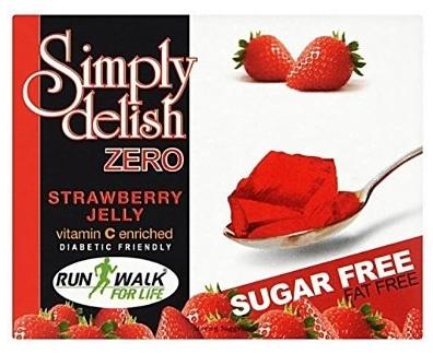 Simply Delish Sugar-Free Jelly Strawberry