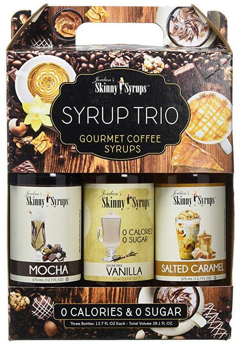 Sugar Free Syrup Trio 3x375ml Salted Caramel, Mocha and Vanilla