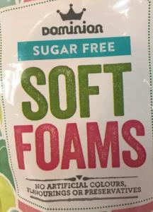 Dominion sugar free sweets soft foams