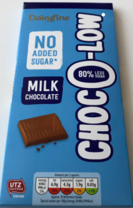 Dairyfine Choc-O-Low Milk Chocolate