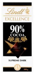 Lindt Excellence 90% Cocoa Supreme Dark
