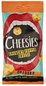 Cheesies Cheddar snack