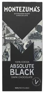 Montezuma 100% Dark Chocolate - Absolute Black