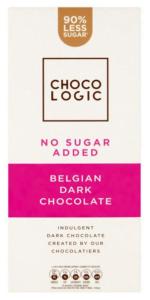 Chocologic 90% Less Sugar Belgian