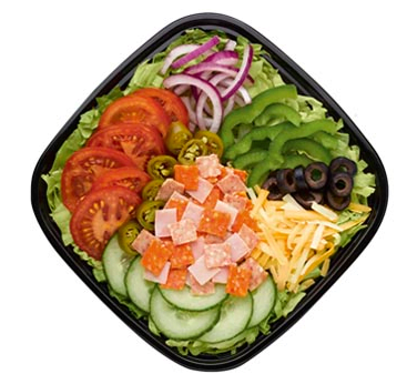 Subway keto low carb takeaway salads