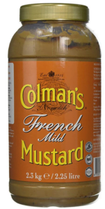 Colman's French Mustard