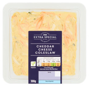 Asda Extra Special Mature Cheddar Cheese Coleslaw