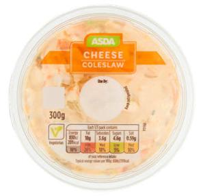 Asda Cheese Coleslaw