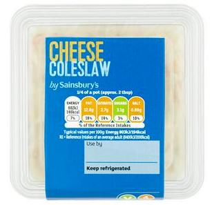 Sainsbury's Cheese Coleslaw