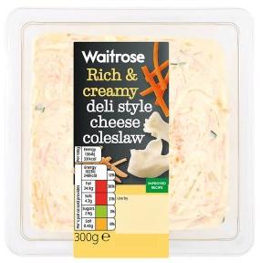 Waitrose Deli Style Cheese Coleslaw