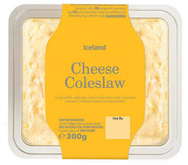 Iceland Cheese Coleslaw