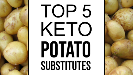 keto potato replacement substitutes