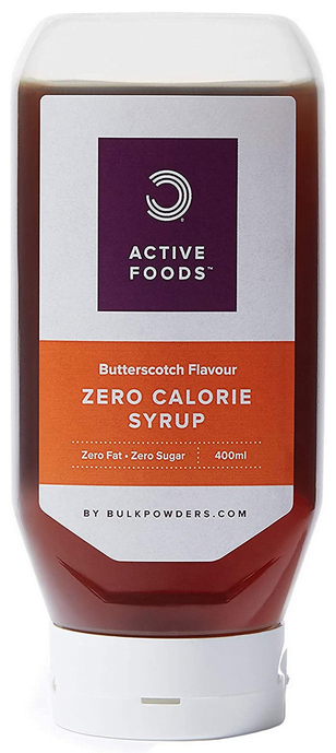 BULK POWDERS Zero Calorie Syrup, Sugar Free, Butterscotch, 400 ml