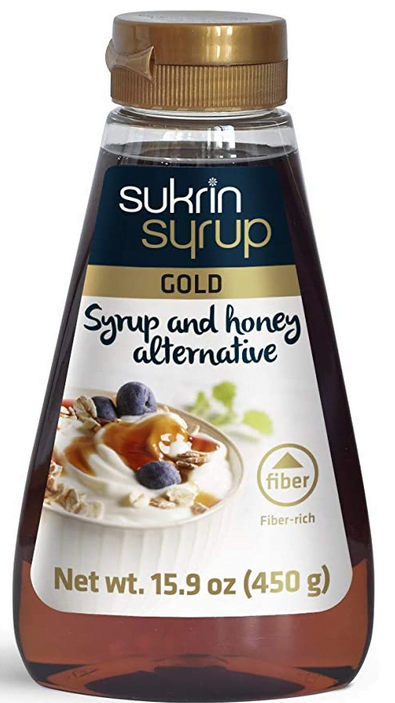 Sukrin fibre gold syrup sugar alternative syrup