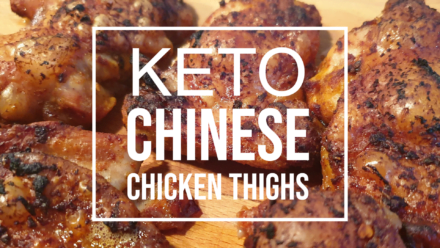 Keto Chinese Chicken Thighs