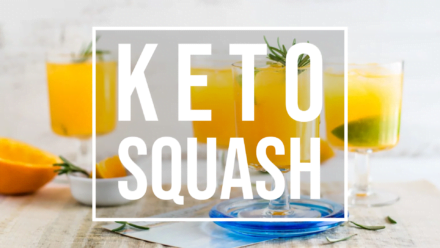 Keto squash fruit juices