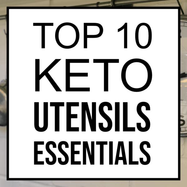 top 10 keto utensils essentials