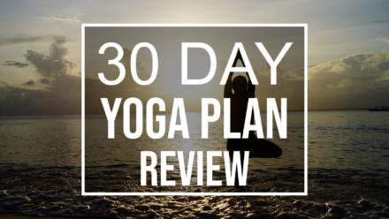 30 day yoga plan review