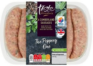 Sainsbury's Pork Cumberland Sausages, Taste the Difference