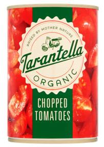 Tarantella Organic Chopped Tomatoes in Organic Tomato Juice