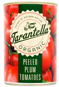 Tarantella Organic Plum Peeled Tomatoes