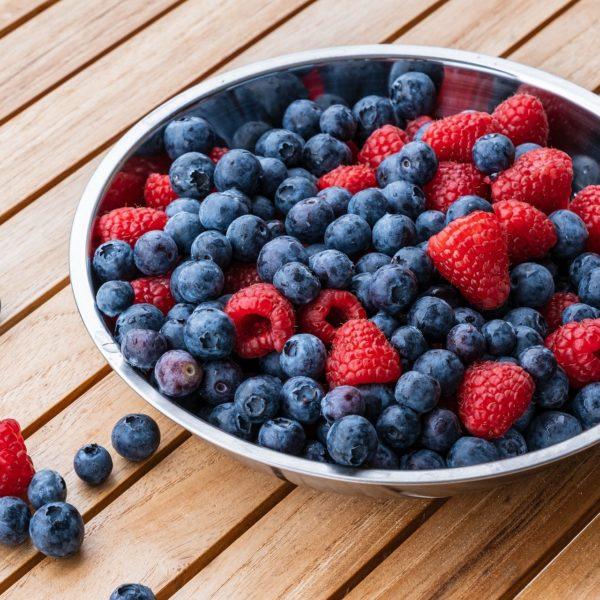 keto fruits berries