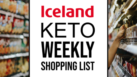 iceland keto weekly shopping list