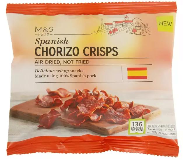 Spanish Chorizo Crisps