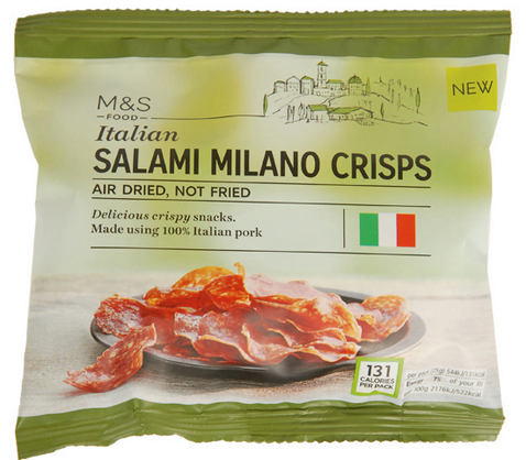 Italian Salami Milano Crisps
