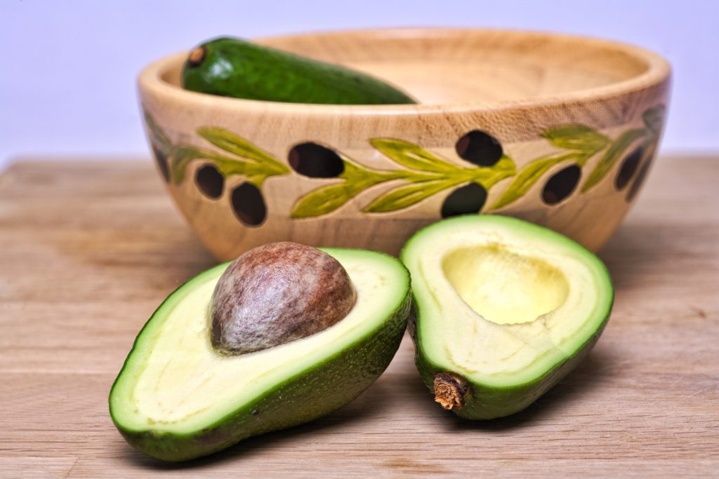 avocados contains potassium
