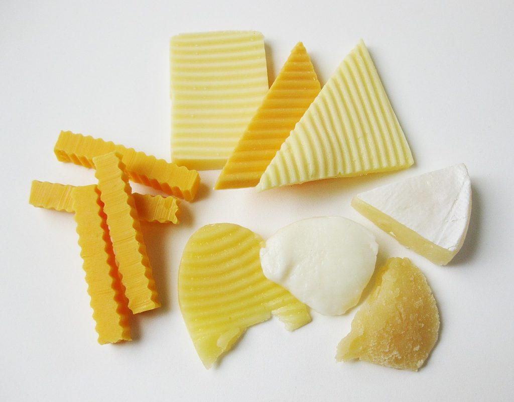 cheeses rich in calcium