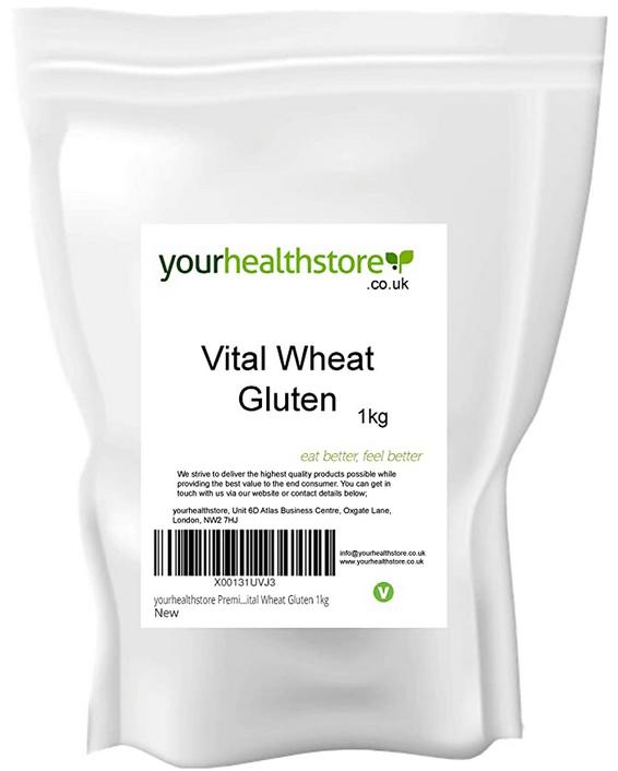 yourhealthstore Premium Vital Wheat Gluten Flour 1kg