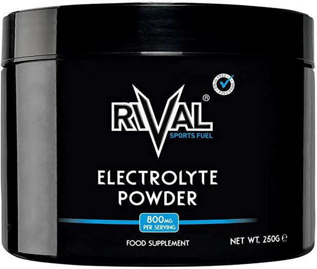 Rival Sports Fuel Electrolyte Powder 250g Unflavoured Sugar Free, Vegan, Keto Friendly
