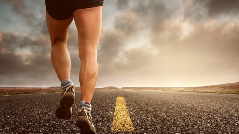 long run on tarmac