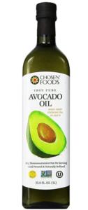 Chosen Foods 100% Pure Avocado Oil 1L