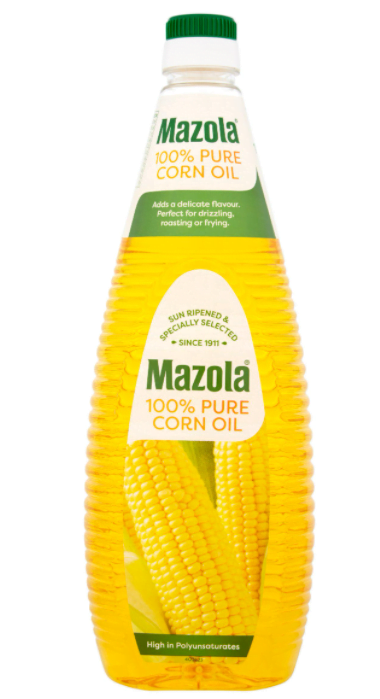 Mazola Pure Corn Oil 1L
