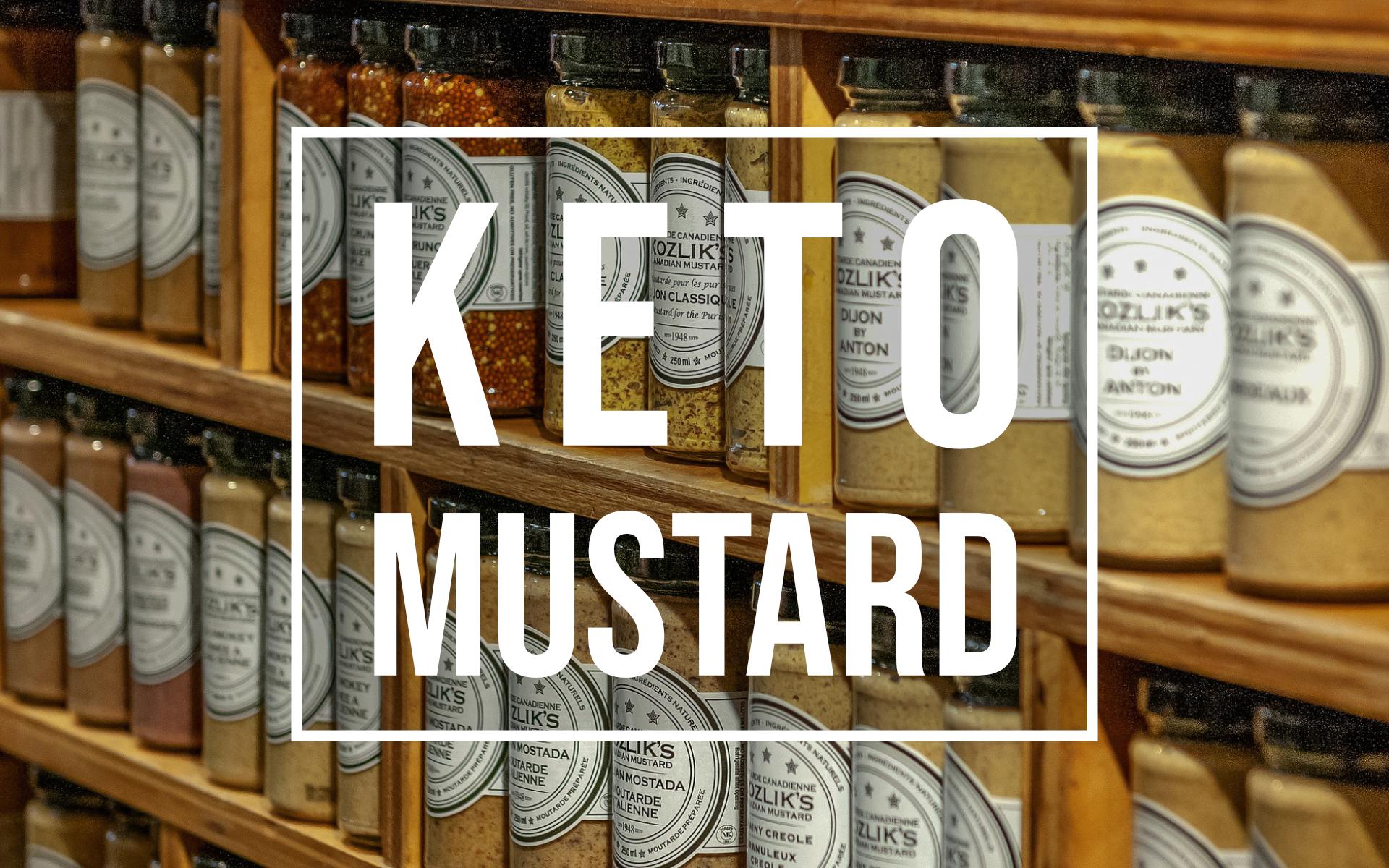keto mustard