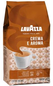 Lavazza Crema e Aroma, Arabica and Robusta Medium Roast Coffee Beans, Pack of 1 kg