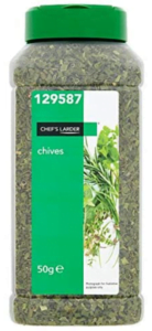 Chef's Larder Chives 50g