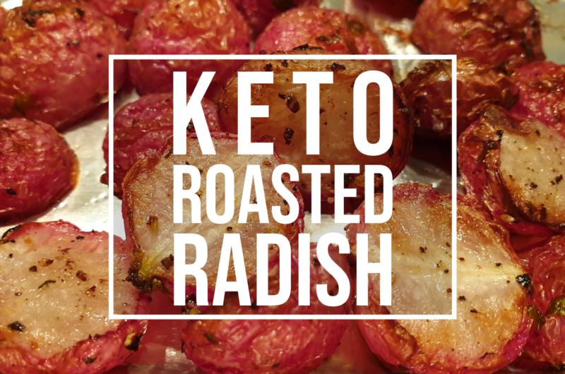 Keto Roasted Radishes Recipe - Perfect potato substitute