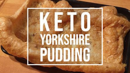 keto Yorkshire pudding recipe