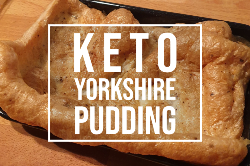 Keto Yorkshire Pudding Recipe - Easy low carb batter